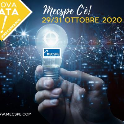MECSPE PARMA RINVIATA DAL 29 AL 31 OTTOBRE 2020