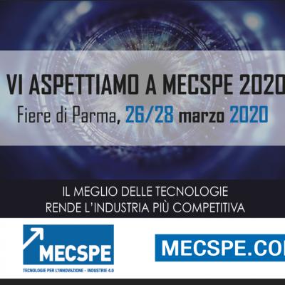 MECSPE PARMA DAL 26 AL 28 MARZO 2020